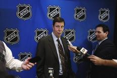 David Poile in New York, January 9, 2013. REUTERS/Lucas Jackson