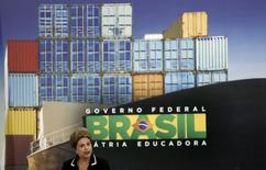 Presidente Dilma Rousseff lança plano de exportações no Planalto 24/6/2015 REUTERS/Bruno Domingos