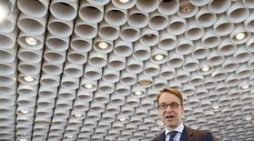 Jens Weidmann, chief of Germany's Bundesbank in Frankfurt, March 12, 2015.  REUTERS/Ralph Orlowski