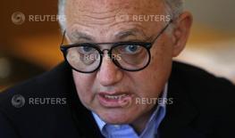 El canciller de Argentina, Héctor Timerman, durante una entrevista con Reuters. REUTERS/Marcos Brindicci