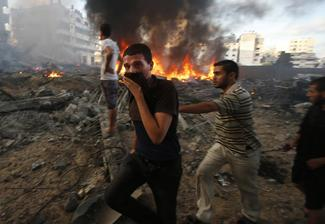 Flashback: The war in Gaza