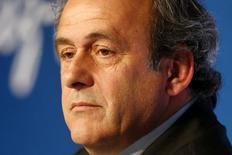 Presidente da Uefa, Michel Platini, em Paris. 10/06/2015  REUTERS/Charles Platiau