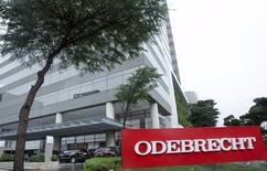 Prédio da construtora Odebrecht, em São Paulo. 19/06/2015 REUTERS/Rodrigo Paiva
