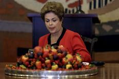 Presidente Dilma Rousseff durante encontro do Mercosul, em Brasília. 17/07/2015 REUTERS/Ueslei Marcelino
