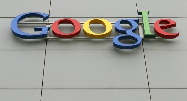A logo is pictured at Google's European Engineering Center in Zurich April16, 2015. REUTERS/Arnd Wiegmann