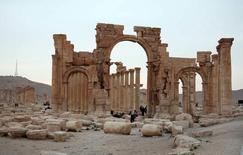 Cidade histórica de Palmira, na Síria.   22/05/2015   REUTERS/Nour Fourat