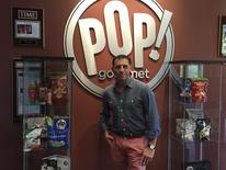 Pop Gourmet CEO David Israel is shown in this handout photo provided by Pop Gourmet September 4, 2015.  REUTERS/Pop Gourmet/Handout via Reuters