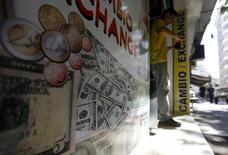 Casa de câmbio no Rio de Janeiro. 31/8/2015 REUTERS/Ricardo Moraes