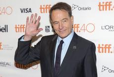 "Bryan Cranston arrives on the red carpet for the film ""Trumbo"" during the 40th Toronto International Film Festival in Toronto, Canada, September 12, 2015.    REUTERS/Mark Blinch"