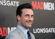 "Cast member Jon Hamm attends the ""Mad Men: Live Read & Series Finale"" held in Los Angeles May 17, 2015. REUTERS/Phil McCarten/Files"