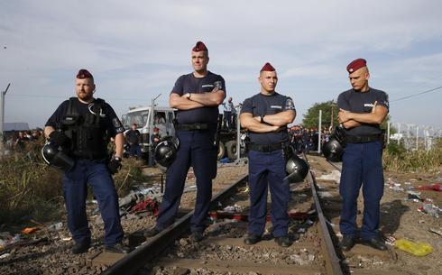 Hungary's border police