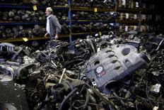 Motores da Volkswagen vistos em Jelah, na Bósnia-Herzegóvina.  26/09/2015   REUTERS/Dado Ruvic