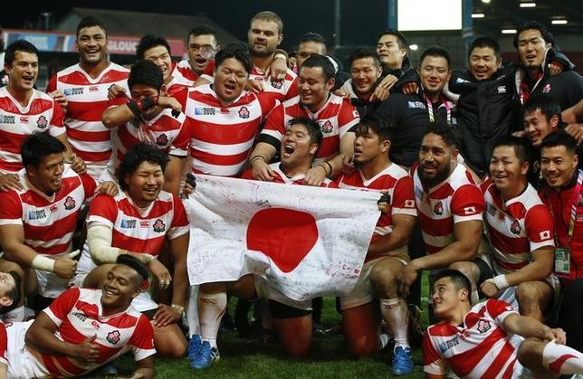 ラグビー日本代表が帰国