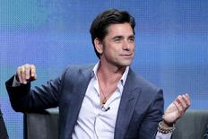 "Cast members John Stamos participates in the FOX ""Grandfathered"" panel at the Television Critics Association (TCA) Summer 2015 Press Tour in Beverly Hills, California August 6, 2015.  REUTERS/Jonathan Alcorn/Files"