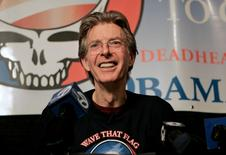 Musician Phil Lesh attends a news conference in San Francisco, California, in this file photo taken February 4, 2008. REUTERS/Robert Galbraith/Files