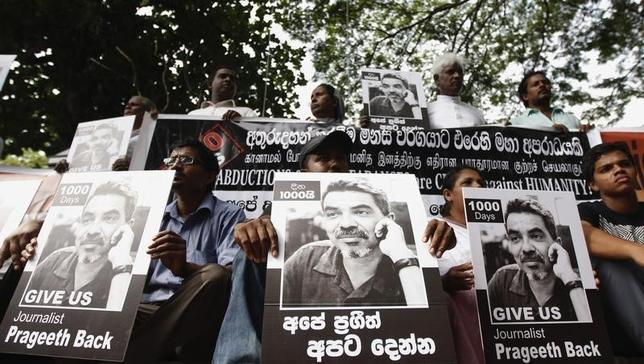 Sri Lanka detains soldiers in case of missing cartoonist