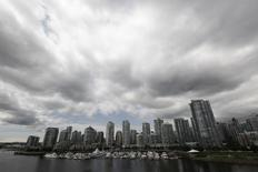 Residential and commercial buildings are pictured in Vancouver, British Columbia June 20, 2011.  REUTERS/Jason Lee