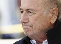 Presidente da Fifa, Joseph Blatter. 22/08/2015 REUTERS/Denis Balibouse