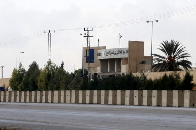 General view of King Abdullah bin Al Hussein Training Center where a Jordanian officer went on a shooting spree on Monday in Mwaqar near Amman, Jordan, November 9, 2015. REUTERS/Muhammad Hamed