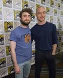"Atores Radcliffe e McAvoy, de ""Victor Frankenstein"", na Comic-Con 2015, em San Diego. 11/07/2015 REUTERS/Mario Anzuoni"