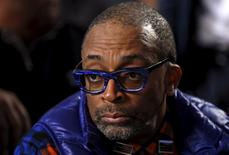 Director Spike Lee attends a mass at Saint Sabina Church in Chicago, Illinois, United States, November 22, 2015.  REUTERS/Jim Young