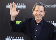 American actor Leonard Nimoy, known for his role as Mr. Spock of the Star Trek franchise, died on February 27, 2015 aged 83. REUTERS/Fred Prouser