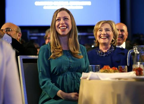 Being Chelsea Clinton