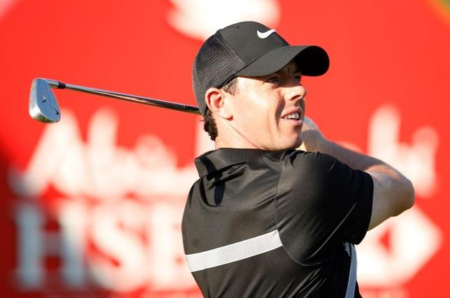 Northern Ireland's Rory McIlroy tees off at the 15th hole during the Pro-Am.  Abu Dhabi HSBC Golf Championship - Abu Dhabi Golf Club, United Arab Emirates - 20/1/16. Action Images via Reuters / Paul Childs Livepic