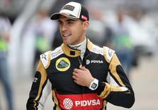 Formula One - F1 - Russian Grand Prix 2015 - Sochi Autodrom, Sochi, Russia - 9/10/15 Pastor Maldonado of Lotus during practice Mandatory Credit: Action Images / Hoch Zwei Livepic