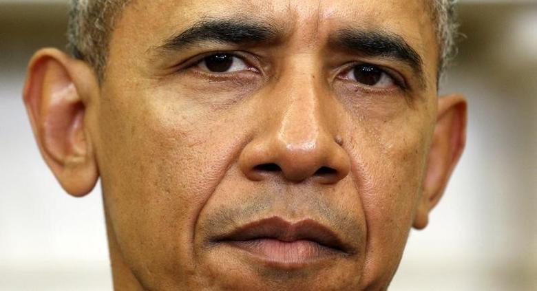 U.S. President Barack Obama  in Washington February 8, 2016.  REUTERS/Kevin Lamarque