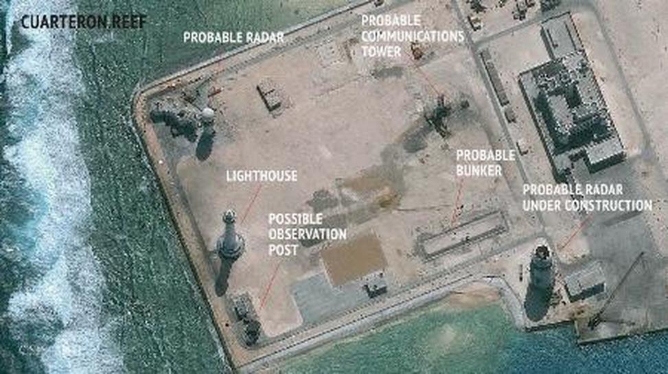 中国、南沙諸島に強力レーダー配備か。南沙海域の実効支配狙う。