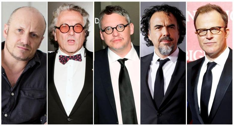 Oscar nominees for Best Director are shown in this combination of file photos. (L-R) Lenny Abrahamson, George Miller, Adam McKay, Alejandro Inarritu and Tom McCarthy.  REUTERS/Staff/Files