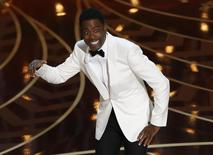 Comedian Chris Rock hosts the 88th Academy Awards. REUTERS/Mario Anzuoni