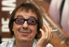 Bill Wyman, ex-baixista dos Rolling Stone, durante evento na Espanha.   20/07/2006   REUTERS/Stringer/files