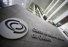 The Caisse de depot et placement du Quebec (CDP) building is seen in Montreal, February 26, 2014. REUTERS/Christinne Muschi