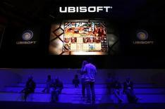 """Ubisoft annonce que son nouveau jeu, """"Tom Clancy's The Division"""", est désormais le jeu le plus vendu en 24 heures de l'histoire du studio français, surpassant les lancements de séries comme """"Assassin's Creed"""" ou """"Watch Dogs"""". /Photo d'archives/REUTERS/Kai Pfaffenbach"""
