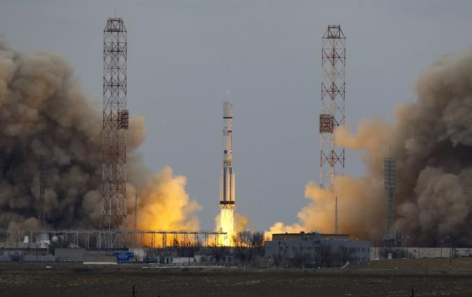 European-Russian Spacecraft Heads Out In Search For Life On Mars
