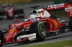 Formula One -  Australia Grand Prix - Melbourne, Australia - 18/03/16 - Ferrari F1 driver Sebastian Vettel during the second practice session at the Australian Formula One Grand Prix in Melbourne. REUTERS/Jason Reed
