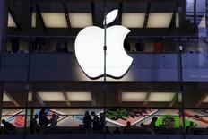 Loja da Apple em Sydney, Austrália. 18 de março de 2016.  REUTERS/David Gray