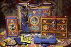 Dolce & Gabbana accessories are seen on display at a shop in downtown Rome, Italy in this March 1, 2016 file photo. REUTERS/Max Rossi/Files