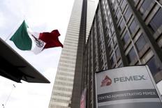 La casa matriz de Pemex en Ciudad de México, el 18 de marzo de 2016. La petrolera mexicana Pemex ha puesto bajo revisión algunos de sus planes de financiamiento para este año, dijo su director de Finanzas, en medio de una severa crisis de liquidez que ha llevado al Gobierno a inyectarle ingentes recursos para tratar de sanear sus cuentas.  REUTERS/Edgard Garrido