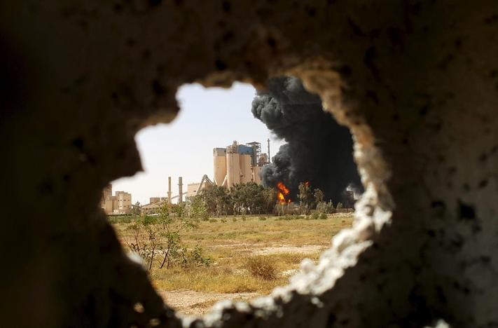 Why are NATO in Libya and what are they doing to help?