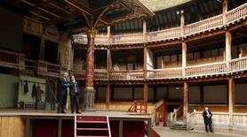 U.S. President Barack Obama is given a tour of the Globe Theatre in London by Patrick Spottiswoode, director of education for the Globe Theatre, to mark the 400th anniversary of William Shakespeare's death April 23, 2016. REUTERS/Kevin Lamarque