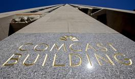 Comcast discute de l'achat de DreamWorks Animation pour plus de trois milliards de dollars (2,65 milliards d'euros), selon le Wall Street Journal, qui cite des sources. /Photo d'archives/REUTERS/Brendan McDermid