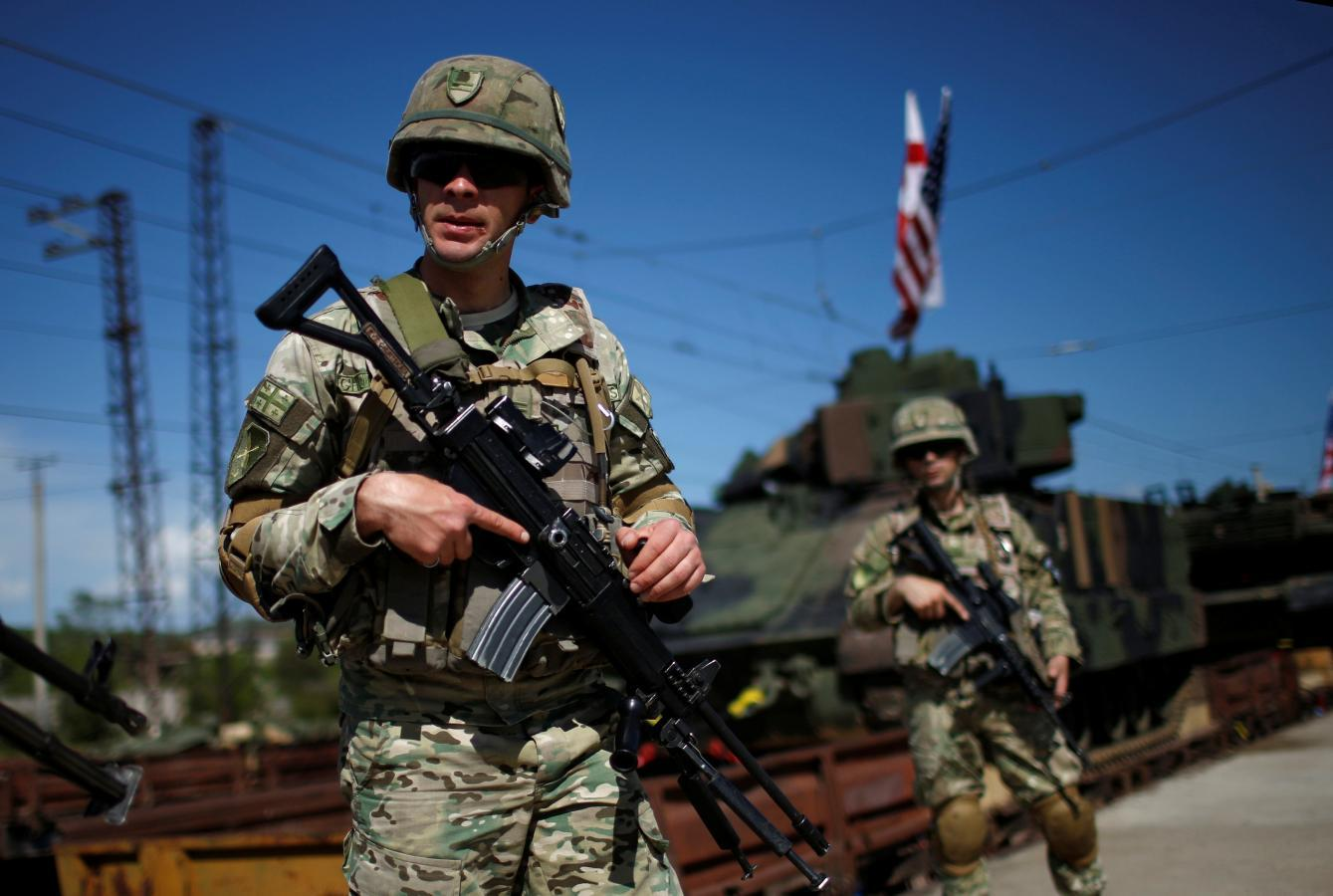 Russia says U.S.-Georgian military exercises could destabilize...