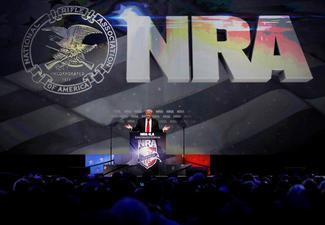 NRA welcomes Trump