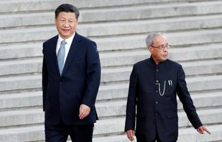 President Mukherjee in China