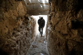 Inside the tunnels of Islamic State