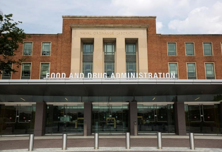 A view shows the U.S. Food and Drug Administration (FDA) headquarters in Silver Spring, Maryland August 14, 2012. REUTERS/Jason