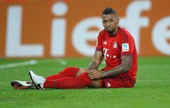 Jérôme Boateng durante partida do Bayern de Munique pela Liga da Alemanha.   05/12/2015        REUTERS/Ina Fassbender/File Photo